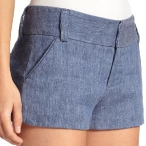 Alice + Olivia light blue Cady shorts Yes--Offers